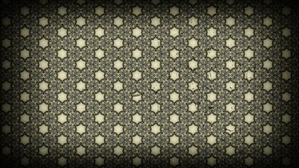 Black and Beige Vintage Ornamental Seamless Pattern Background Design