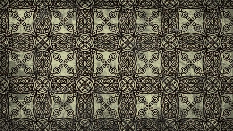 Vintage Floral Seamless Background Pattern Design