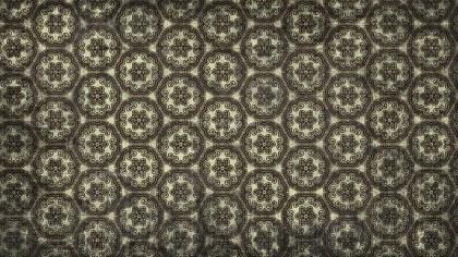 Black and Beige Vintage Ornament Background Pattern Image