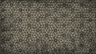 Black and Beige Vintage Seamless Ornament Background Pattern Graphic