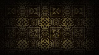 Black and Brown Vintage Floral Seamless Pattern Wallpaper Design Template