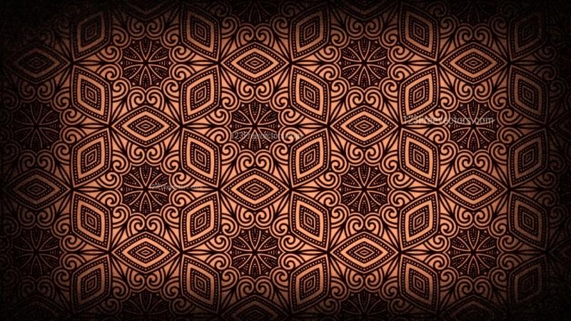 Vintage Decorative Floral Wallpaper Pattern