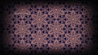Vintage Floral Ornament Pattern Background Design Template