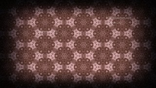 Black and Brown Vintage Ornamental Pattern Background
