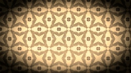 Black and Brown Vintage Flower Background Pattern