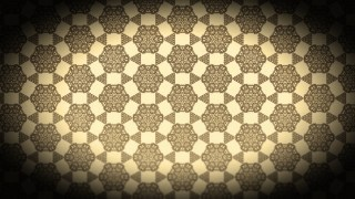 Black and Brown Vintage Floral Seamless Pattern Wallpaper Design Template