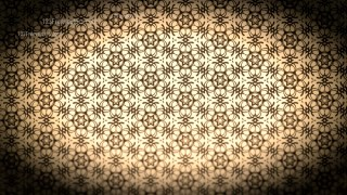 Black and Brown Vintage Ornamental Seamless Pattern Wallpaper Template