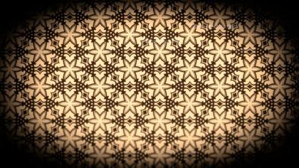 Black and Brown Seamless Floral Vintage Pattern Background Image