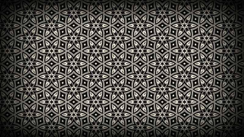 Black and Brown Vintage Seamless Wallpaper Background