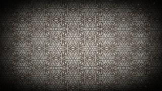 Black and Brown Vintage Ornamental Seamless Pattern Background Design