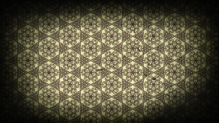Black and Brown Vintage Floral Wallpaper Background