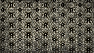 Black and Brown Vintage Ornament Background Pattern Image