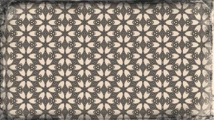 Vintage Flower Pattern Wallpaper