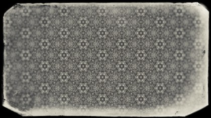 Black and Brown Vintage Ornamental Pattern Wallpaper