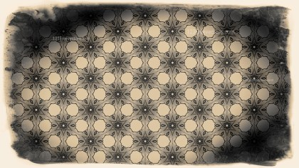 Black and Brown Vintage Seamless Ornament Background Pattern Graphic