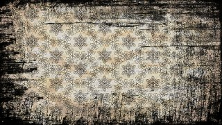 Vintage Grunge Decorative Floral Seamless Pattern Background Design