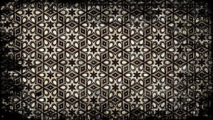 Vintage Grunge Ornamental Pattern Background