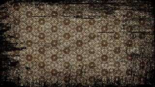Vintage Grunge Ornamental Seamless Pattern Background Template