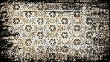 Vintage Grunge Decorative Floral Seamless Pattern Wallpaper Template