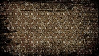 Vintage Grunge Ornamental Seamless Pattern Wallpaper Graphic