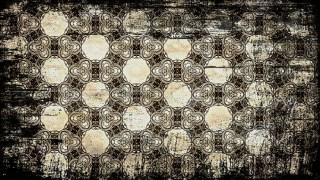 Vintage Grunge Seamless Ornamental Pattern Wallpaper