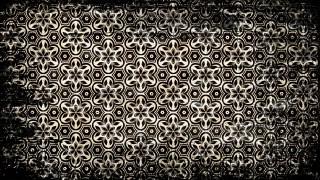Vintage Grunge Floral Ornament Wallpaper Pattern Design Template