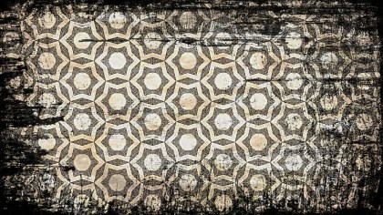 Vintage Grunge Flower Wallpaper Pattern