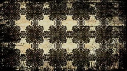 Ornamental Vintage Grunge Background Pattern