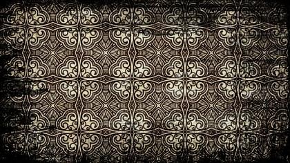 Black and Brown Seamless Vintage Grunge Wallpaper Pattern Background Image