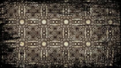 Vintage Grunge Decorative Floral Seamless Pattern Background Design Template