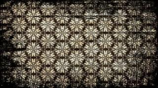 Vintage Grunge Floral Seamless Pattern Background Template