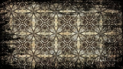 Vintage Grunge Decorative Ornament Background Pattern