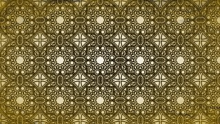Black and Gold Vintage Seamless Wallpaper Pattern Template