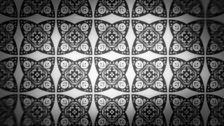 Black and Grey Flower Wallpaper Pattern