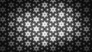 Black and Gray Seamless Ornament Wallpaper Pattern Image