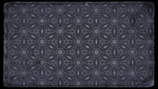 Black and Grey Vintage Seamless Floral Background Pattern