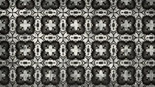 Black and Gray Vintage Decorative Floral Ornament Wallpaper Pattern Image