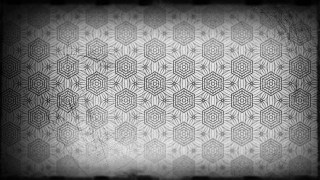 Black and Gray Vintage Seamless Wallpaper Pattern Template
