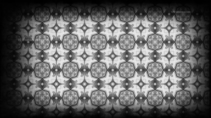 Black and Grey Vintage Seamless Wallpaper Background