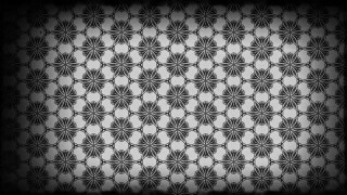 Black and Gray Vintage Ornamental Seamless Pattern Wallpaper Template