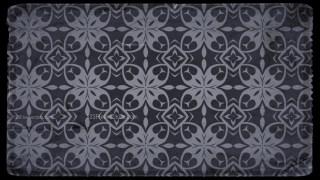 Vintage Floral Pattern Background Texture