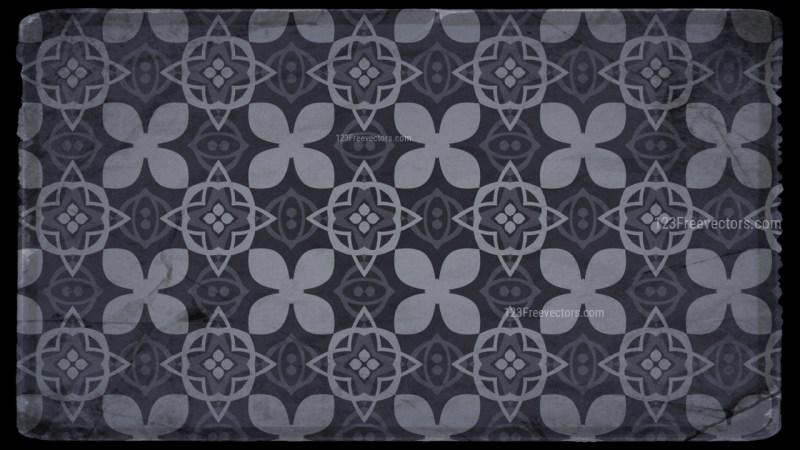 Seamless Floral Vintage Background Pattern