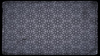 Black and Grey Vintage Seamless Ornamental Pattern Background