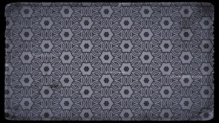 Black and Grey Vintage Decorative Ornament Background Pattern