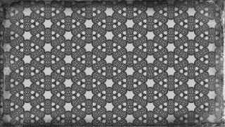 Black and Grey Vintage Flower Wallpaper Pattern