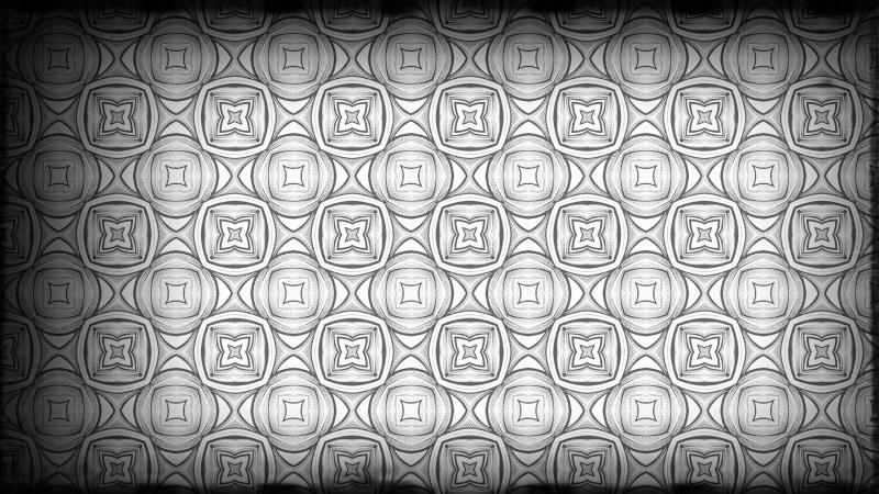 Black and Grey Geometric Seamless Pattern Background Image