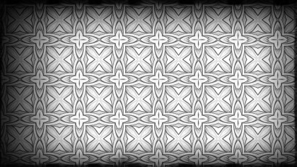 Black and Gray Decorative Background Pattern