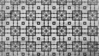 Black and Grey Seamless Geometric Ornament Background Pattern Design Template