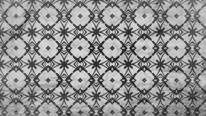 Black and Grey Geometric Seamless Pattern Wallpaper Image