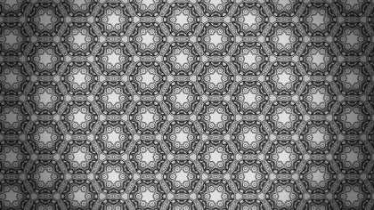 Black and Grey Seamless Geometric Ornament Wallpaper Pattern Design Template